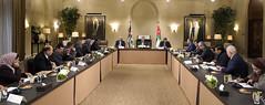 جلالة الملك عبدالله الثاني يلتقي رئيس وأعضاء كتلة وطن النيابية (Royal Hashemite Court) Tags: kingabdullahii watan bloc jordan