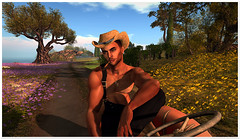Provence farm boy (Silex Zapedzki) Tags: provence flowers farmer