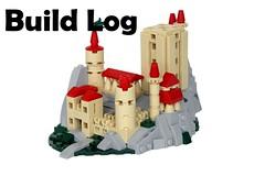 48x48 Castle Prize: Build Log (-soccerkid6) Tags: lego castle build log process creation moc design creative micro