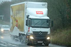 Mercedes Actros Argos KX64 WOB (SR Photos Torksey) Tags: transport truck haulage hgv lorry lgv logistics road commercial vehicle freight traffic mercedes actros argos