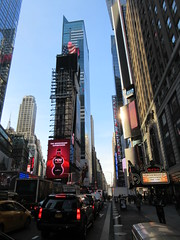 Shazam The Big Red Cheese Billboard 42nd St NYC 3705 (Brechtbug) Tags: shazam billboard 42nd street new captain marvel the big red cheese poster ad nyc 2019 times square movie billboards york city work working worker paint painting advertisement dc comic comics hero superhero alien dark knight bat adventure national periodicals publication book character near broadway shield s insignia blue forty second st fortysecond 03142019 lightning flight flying march