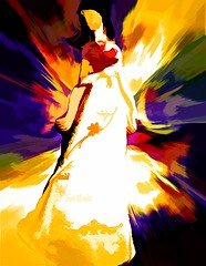 mother of angels (larrynunziato) Tags: digitalabstract abstractangel digitalpainting angel