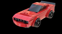 Dodge Challenger SRT Demon: Instructions (OpenBagTwo) Tags: lego car speed champions dodge challenger srt demon studio ldd instructions