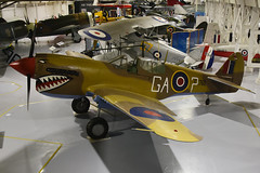 N795FT Curtiss P40N Kittyhawk  - RAF Hendon - 15-12-18 (MarkP51) Tags: n795ft curtiss p40n kittyhawk rafmuseum hendon london england preserved military ww2 warbird aircraft airplane plane image markp51 nikon d7200 nikon24120f4vr