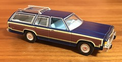 1979 Ford LTD Country Squire 1/64 Greenlight (Eunus El Ya) Tags: 1979 70s malaise era american muscle car station wagon land yacht ford ltd country squire fomoco mercury lincoln greenlight 164 diecast toy model 1980s cars luxury estate wagons