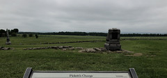 Union View of Pickett's Charge (Khao Soi Boy) Tags: gettysburgnationalmilitarypark gettysburg pennsylvania nps nationalparkservice pickettscharge battlefield battle monuments markers july1863 civilwar iphonex