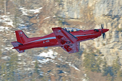 A-105, PC-21 (Jaapio) Tags: aviation aircraft f18 swiss airforce aviaton meiringen snow pc21