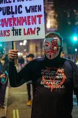 181105_MMM-5 (Harvin Alert) Tags: millionmaskmarch2018 million mask march v for vendetta guy fawkes 5th november street photography 2018 fujifilm london parliament square xpro2 xf50mmf2