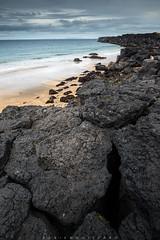 Skarðsvík Beach #4, Snæfellsnes, Iceland (Fabien Guittard) Tags: automne beach fall landscape nature paysage plage rocher rock travel voyage snæfellsnes islande is