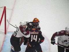 IMG_5155 (Dinur) Tags: hockey icehockey nhl nationalhockeyleague avalanche avs coloradoavalanche ducks anaheimducks
