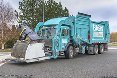 Peterbilt 520 - Heil Half/Pack Freedom Garbage Truck (Thrash 'N' Trash Prodcutions) Tags: garbage trash refuse truck recycle recycling trucks heil halfpack freedom front load curottocan peterbilt 520 320 paccar rubbish sanitation disposal waste collection vehicle basindisposal bdi westrichland washington trashmonkey22