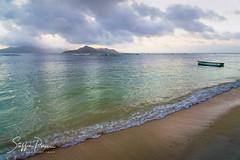 Seychelles (svpe4711) Tags: 2018 seychelles anselareunion sonnenuntergang landscape sunset seashore nature water landschaft seychellen sony vacation ladigue natur sea bluesky reise blue beach ocean strand travel urlaub blau island sky boat meer himmel insel blauerhimmel
