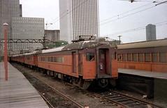 South Shore 111 Randolph St 1979 (jsmatlak) Tags: chicago south shore line nictd indiana electric railway interurban train