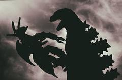 2018 Week #51:Silhouette (hogg86) Tags: godzilla silhouette