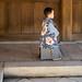 Little boy at the Meiji shrine