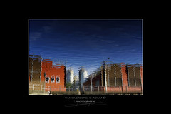 defragmentation industrielle (photolivedream) Tags: reflet reflection surface eau water miror mirror canal ath city enville industry
