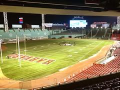 Before Yale Harvard game (kohane) Tags: collegefootball repurposing painting fenwaypark yale harvard football