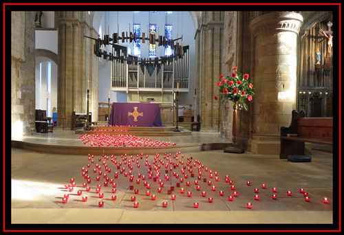 Worksop Priory. River of Light