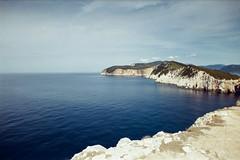 (Just A Stray Cat) Tags: fuji 400 400h fujifilm fujicolor lefkada greece ionian sea beach travel holiday summer sunny rocks