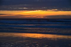 Orange reflection (afagen) Tags: california pacificgrove asilomarstatebeach montereypeninsula asilomar beach pacificocean ocean sunset dusk
