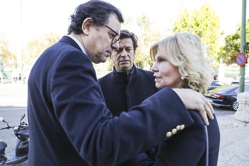 Missa Evocativa de Francisco Sá Carneiro, Adelino Amaro da Costa e acompanhantes