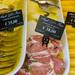 Marinierte Rinderlenden in einem Restaurant in Rom