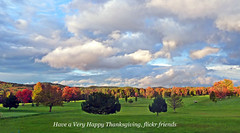 Happy Thanksgiving! (MoodyGoat) Tags: thanksgiving michigan upperpeninsula up fall golfcourse happythanksgiving