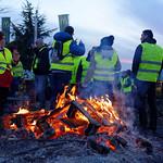 Mouvement des gilets jaunes, Andelnans, 24 Nov 2018 thumbnail