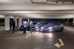 Guys & Cars Sainsbury's Car Park, Street Photography, Alperton (LFaurePhotos) Tags: londonbynight streetsoflondon alperton bmw carpark cars guys lfaurephotos northwestlondon people streetphotography