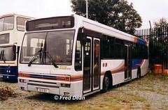 Dublin Bus P31 (93D3031). (Fred Dean Jnr) Tags: july2003 dublin broadstone busathacliath dublinbus broadstonedepotdublin buseireannbroadstonedepot p31 93d3031 daf sb220 plaxton verde cityswift