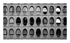 Wind'eggs (Guillaume DELEBARRE) Tags: windows canon 5d4 architecture noiretblanc bw nb wb blackandwhite minimalism minimalist abstract
