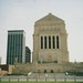 Indianapolis State Capitol - Indiana World War Memorial - Plaza