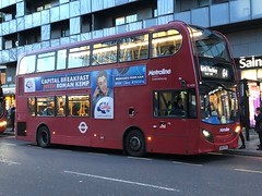 One of North London's premier routes and with an exciting future | Metroline London ADL Enviro 400 on the 134 to North Finchley, Tally Ho. (alexpeak24) Tags: northfinchley tottenhamcourtroad 134 enviro400 alexanderdennis london metroline