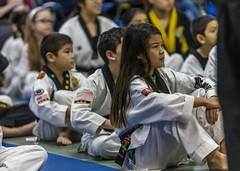 Attentive (Airborne Guy) Tags: martialarts taekwondo student children child kid sit attentive