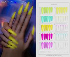 Shiny Shabby | December 20th (Kah Melody | ASCENDANT) Tags: ascendant belleza slink maitreya bento hand nails polish shiny shabby