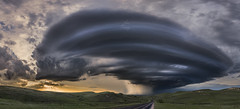 The Ogallala Supercell (John Finney) Tags: nebraska storm dramaticsky weather danger thebiggerpicture extremeweather tornadoalley stormchasing supercell thunderstorm ogallala cloud panoramic deuelcounty