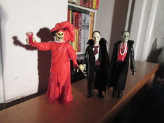 Mask of the Red Death Phantom Toasting 8181 (Brechtbug) Tags: mask red death phantom opera masque funko super7 reaction remco minimonsters figure from 1980 lon chaney sr eric paris monster dusty action universal monsters new york city 2018 france convict devil s island scary horror terror halloween fright toy toys creatures shadow ghoul teacher mentor victor hugo skull like shadows creepy sideshow 1980s nyc creature super 7 seven