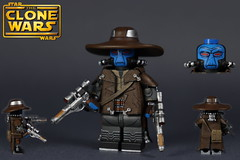 Custom LEGO Star Wars The Clone Wars: S1 Cad Bane (Will HR) Tags: lego starwars theclonewars cadbane bounty hunters hats custom