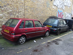 1997 & 1998 Rover 114 GSi (Neil's classics) Tags: vehicle 1997 rover 114 gsi