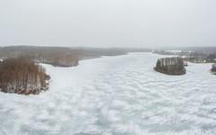 Twin Lakes (bill.d) Tags: dji djispark kalamazoocounty michigan twinlakes us unitedstates aerialphotography drone flying fog kalamazoo lake outdoor overcast snow winter