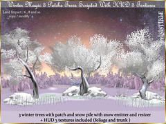 WINTER MAGIC  ♥ (irrISIStible shop) Tags: winter patch tree wild christmas ice berry snow irrisistible shop magic wonderland foliage sl secondlife second life fantasy landscaping decor flowers frozen mesh build pack