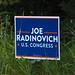 Joe Radinovich for U.S. Congress Lawn Sign (CD-8)