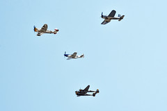 """WWII Fighters (Andrew """"MuseumAndy"""" Boehly) Tags: aircraft airplanes airshow nampa idaho warhawkairmuseum warbirds aviation"""