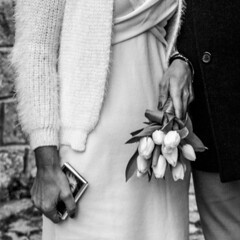 I will always love you with all my heart and soul. (Margcoss) Tags: matrimonio sposi amore bouquet tulipani details