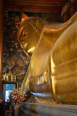Wat Po Reclining Buddha (Seventh Heaven Photography - (Travel)) Tags: wat po reclining buddha gold golden nikon d3200 bangkok thailand