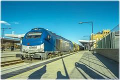 Tramesa en Zamora (440_502) Tags: 335 002 3502 euro 4000 euro4000 vossloh comsa rail transport sagunt zamora vigo guixar tramesa