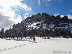 Otkliknoy greben 3 (Artemius Ber) Tags: taganay таганай урал ural winter snow mobilephoto sky mountain rocks