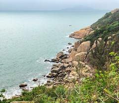 Craggy coast