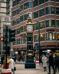 Little Ben (Мaistora) Tags: street busy crowded traffic people rush tourists visitors londoners everyday life beehive buzz colours colourful victoria london england britain uk leica typ109 dlux lightroom clock timepiece landmark antique historic symbol decorated memorial standing unnoticed pedestrians hurrying trafficlights littleben reference echo gift present donation political diplomatic history ignorance