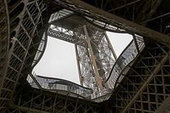 À l'intérieur (Lugarplaceplek) Tags: ëiffel tower paris engineering fragment france structure steel